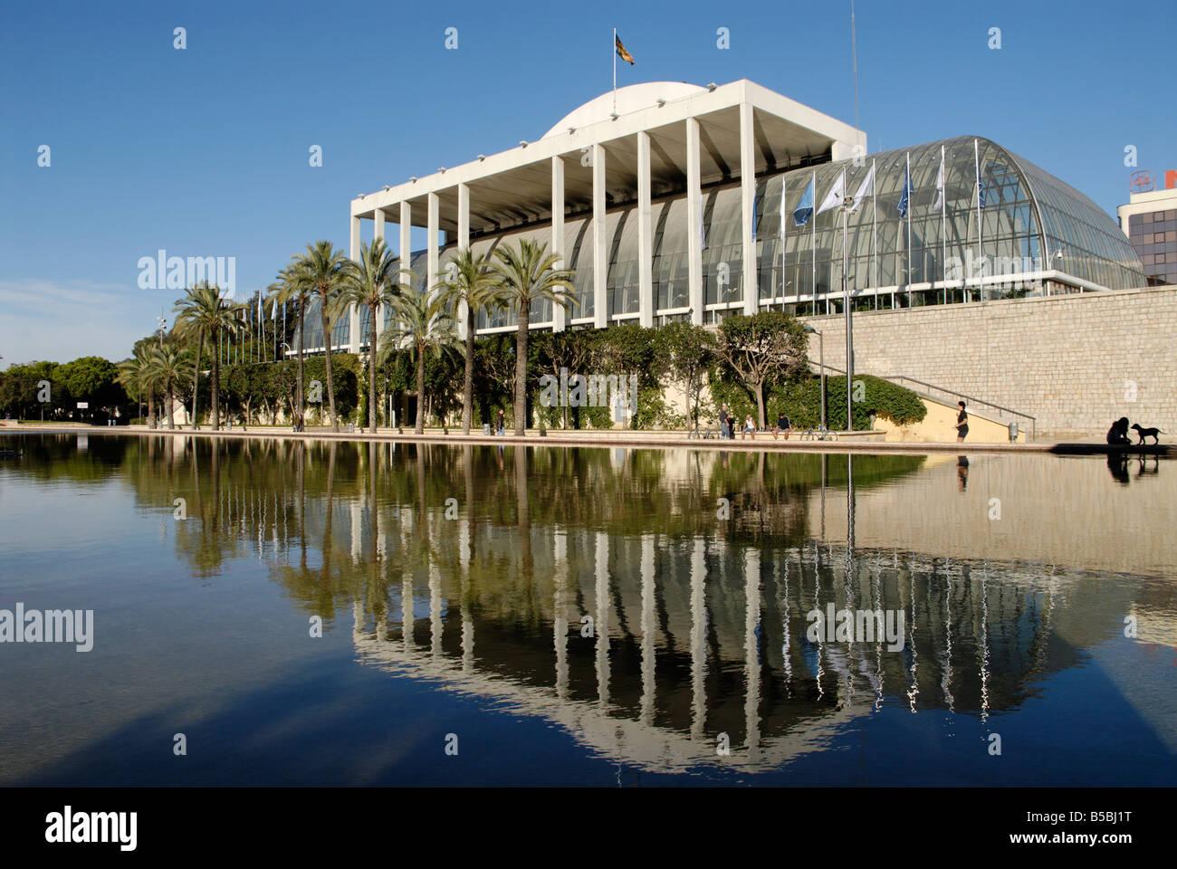 Palau de la música, Valencia, España, Europa Imagen De Stock