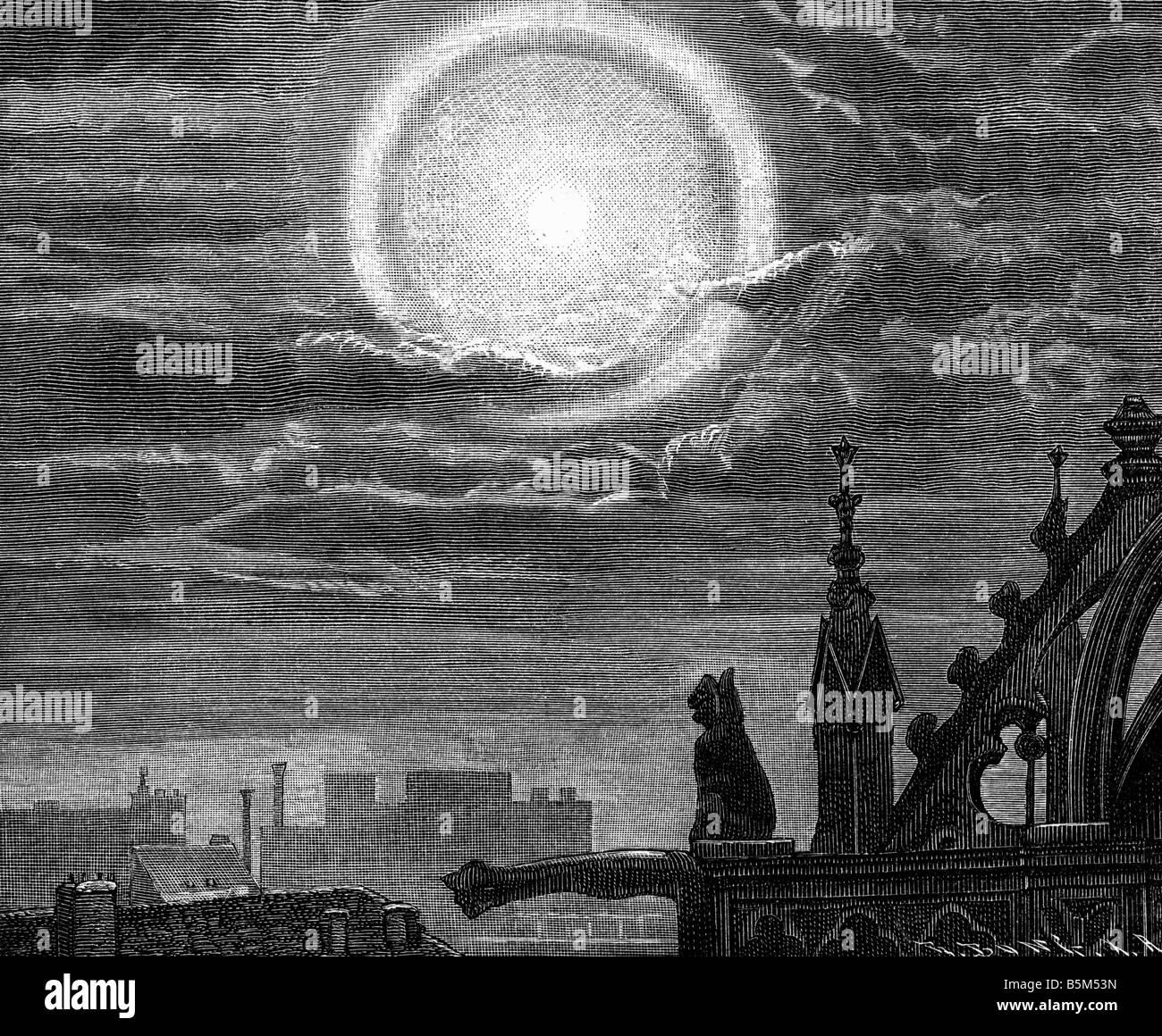 Grabado Flammarion Imágenes De Stock Grabado Flammarion