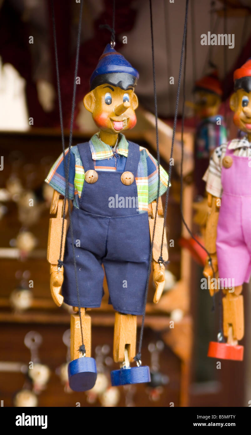 Wooden Puppet String Marionette Imágenes De Stock & Wooden Puppet ...