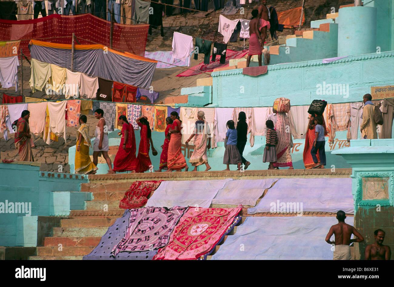 India, varanasi Imagen De Stock