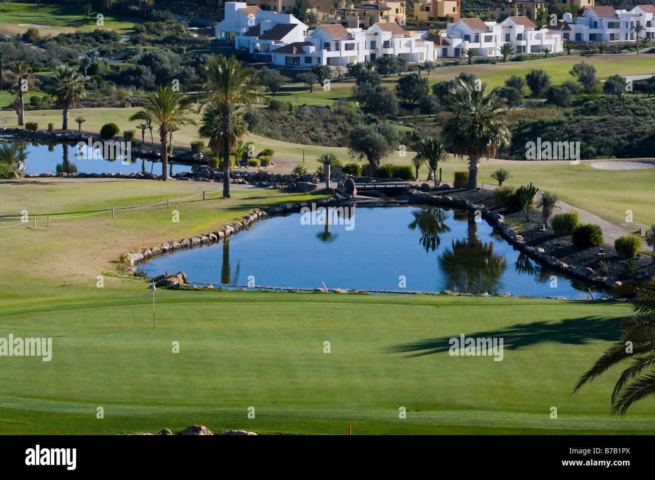 El Campo de Golf Valle Del Este Vera Almería España Resorts de Golf CURSOS Foto de stock