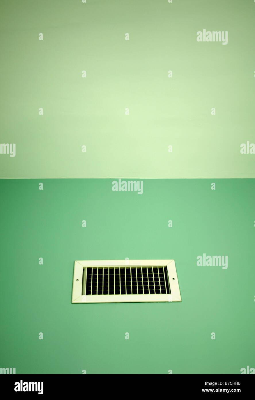 Aire de ventilación de apertura verde fresco viento casa respirar Imagen De Stock