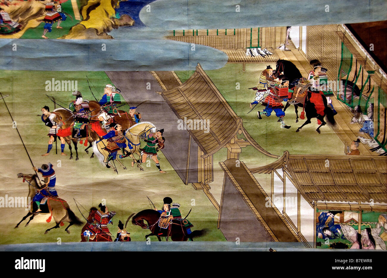 1748 Procesión de Corea Corea embajadores a Japón durante el período Edo Foto de stock