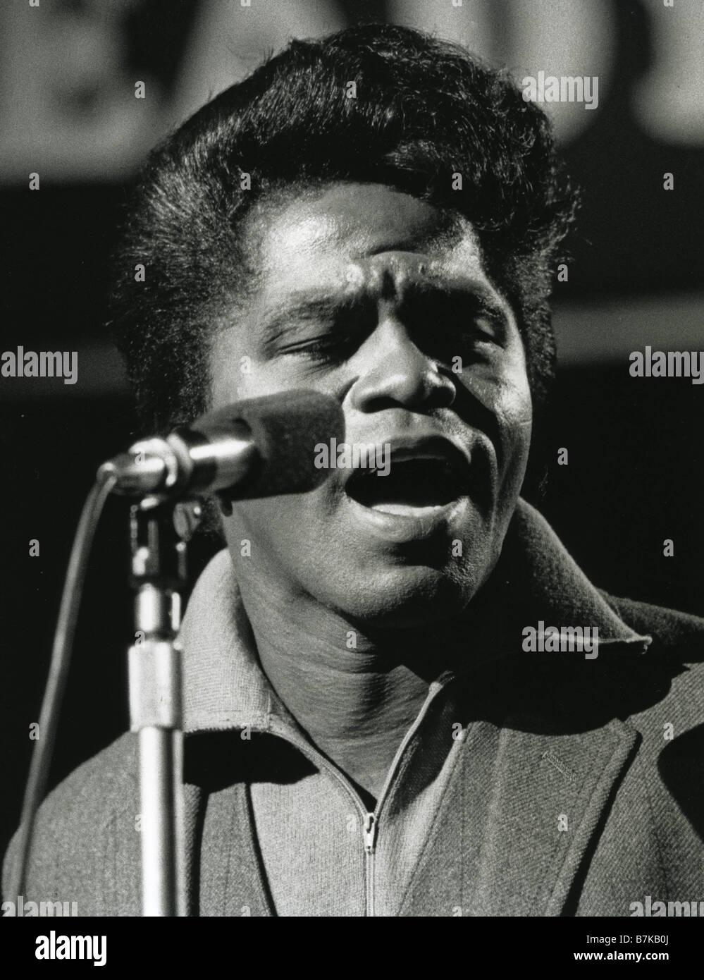 El cantante estadounidense James Brown en 1965 Imagen De Stock