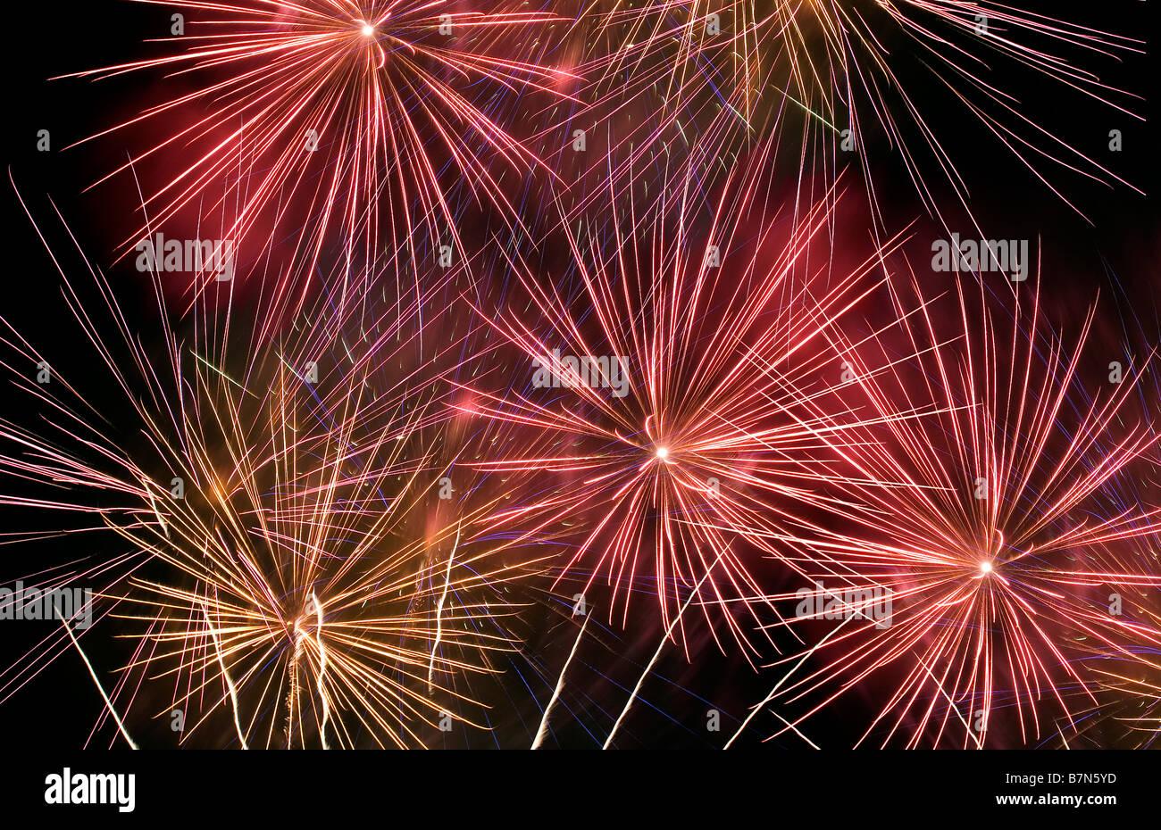 Fuegos artificiales Imagen De Stock