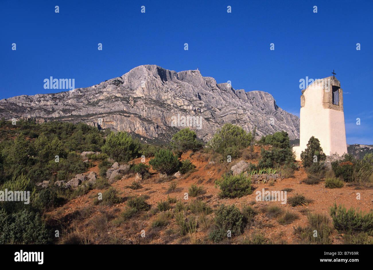Mont Sainte Victoire Cezanne Imagenes De Stock Mont Sainte