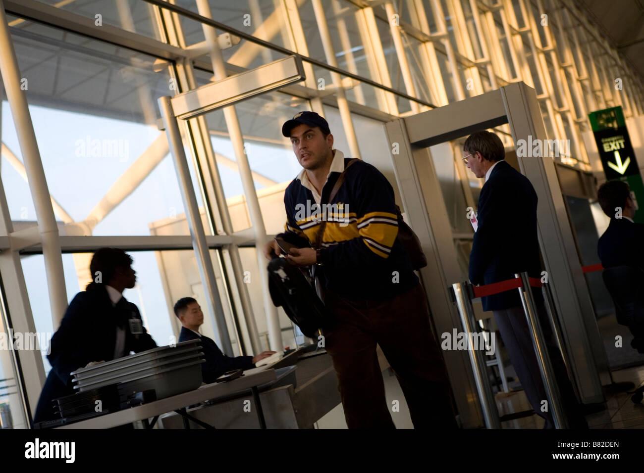 United 93 Año 2006 Estados Unidos Cheyenne Jackson Director: Paul Greengrass Foto de stock
