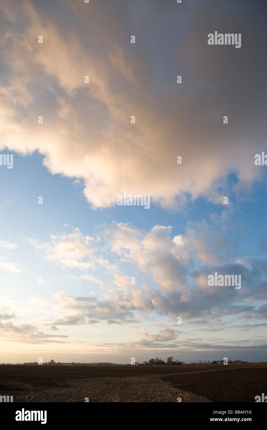 Cielo nublado Imagen De Stock