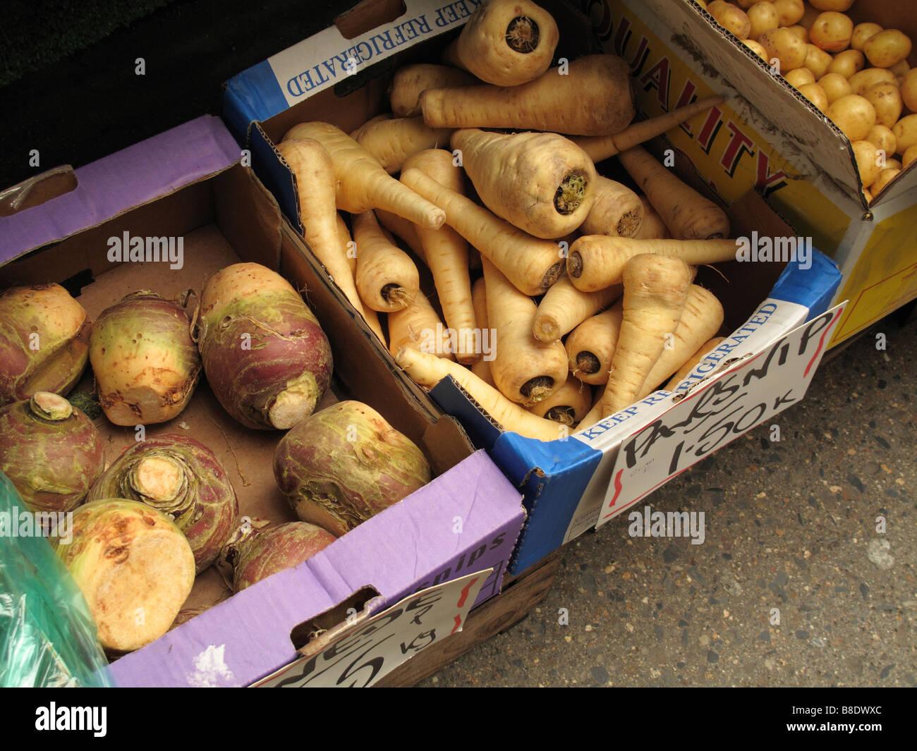 verduras de raíz Imagen De Stock