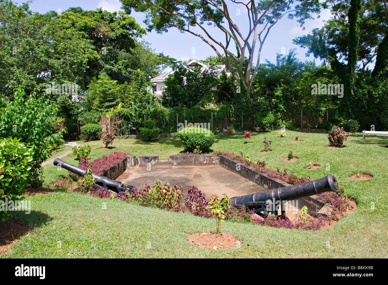 Fort Bennett, Tobago, Trinidad y Tabago, el Caribe Foto de stock