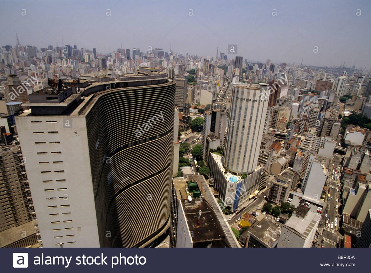 Sao Paulo, Brasil. Imagen De Stock