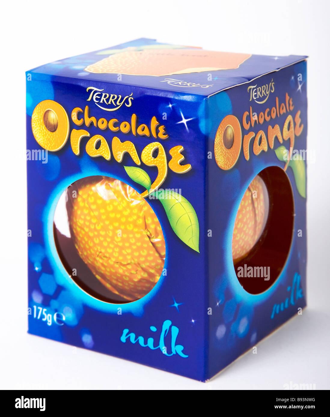 Classic terry de chocolate y naranja Imagen De Stock