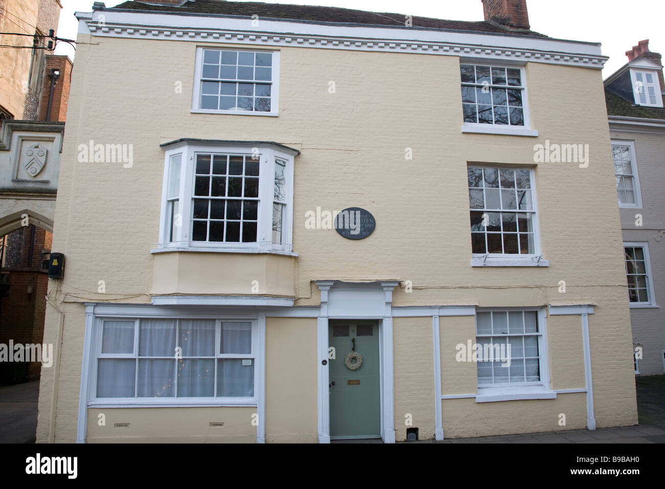 La casa de Jane Austen, Winchester, Inglaterra Imagen De Stock
