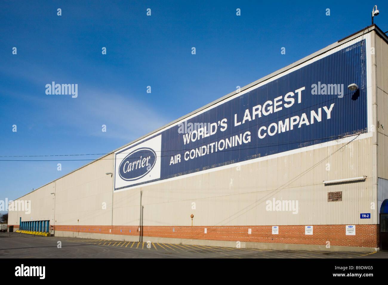 Casa de Carrier Aire acondicionado más grandes del mundo Syracuse, Nueva York Imagen De Stock