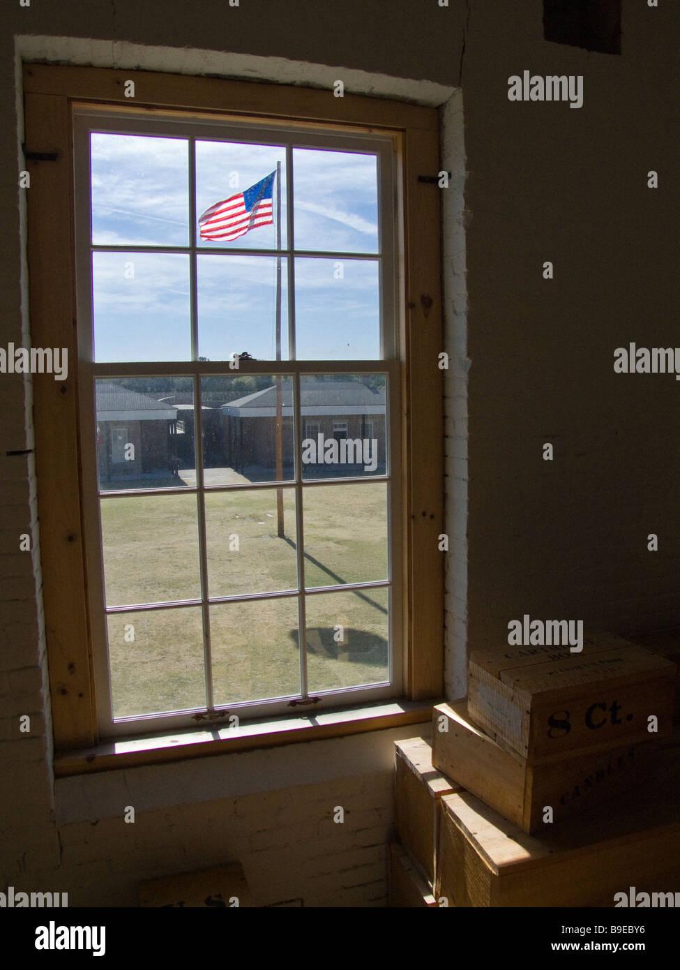 Fort Clinch State Park Florida sitio histórico Imagen De Stock