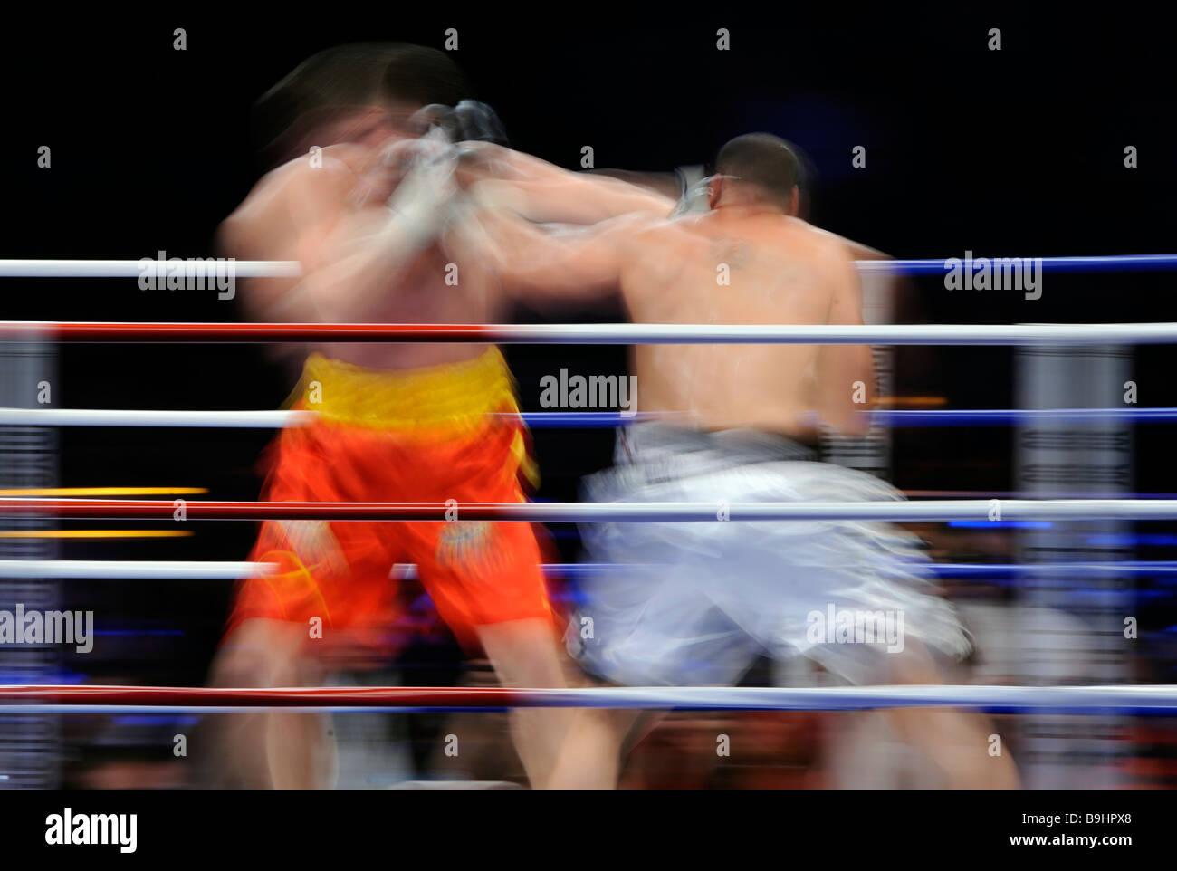 Boxeo Imagen De Stock