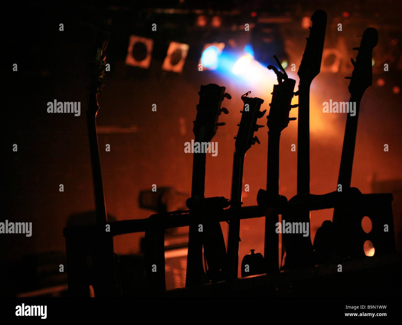 Guitarras Imagen De Stock