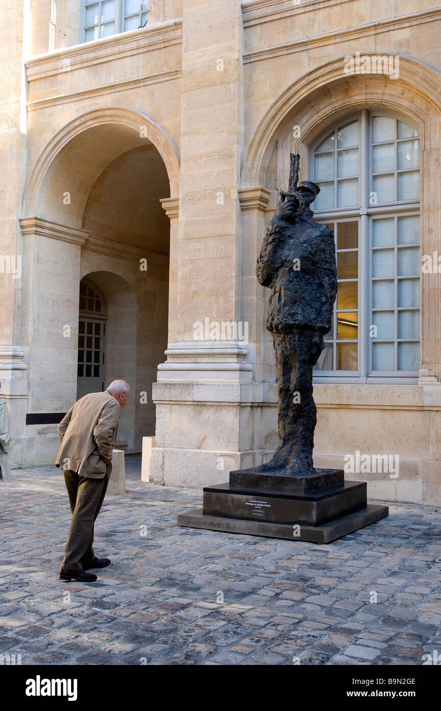 Francia, Paris, musée d'Art et d'Histoire du Judaisme (judío) y el Museo de Historia del Arte en Saint Aignan Mansion House Foto de stock