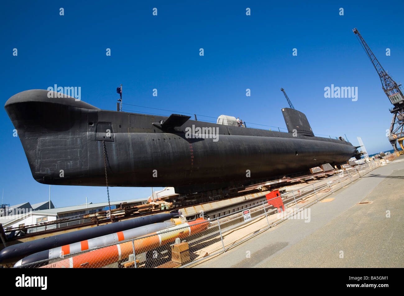 HMAS hornos en Western Australian Maritime Museum. Fremantle, Australia Occidental, Australia Imagen De Stock