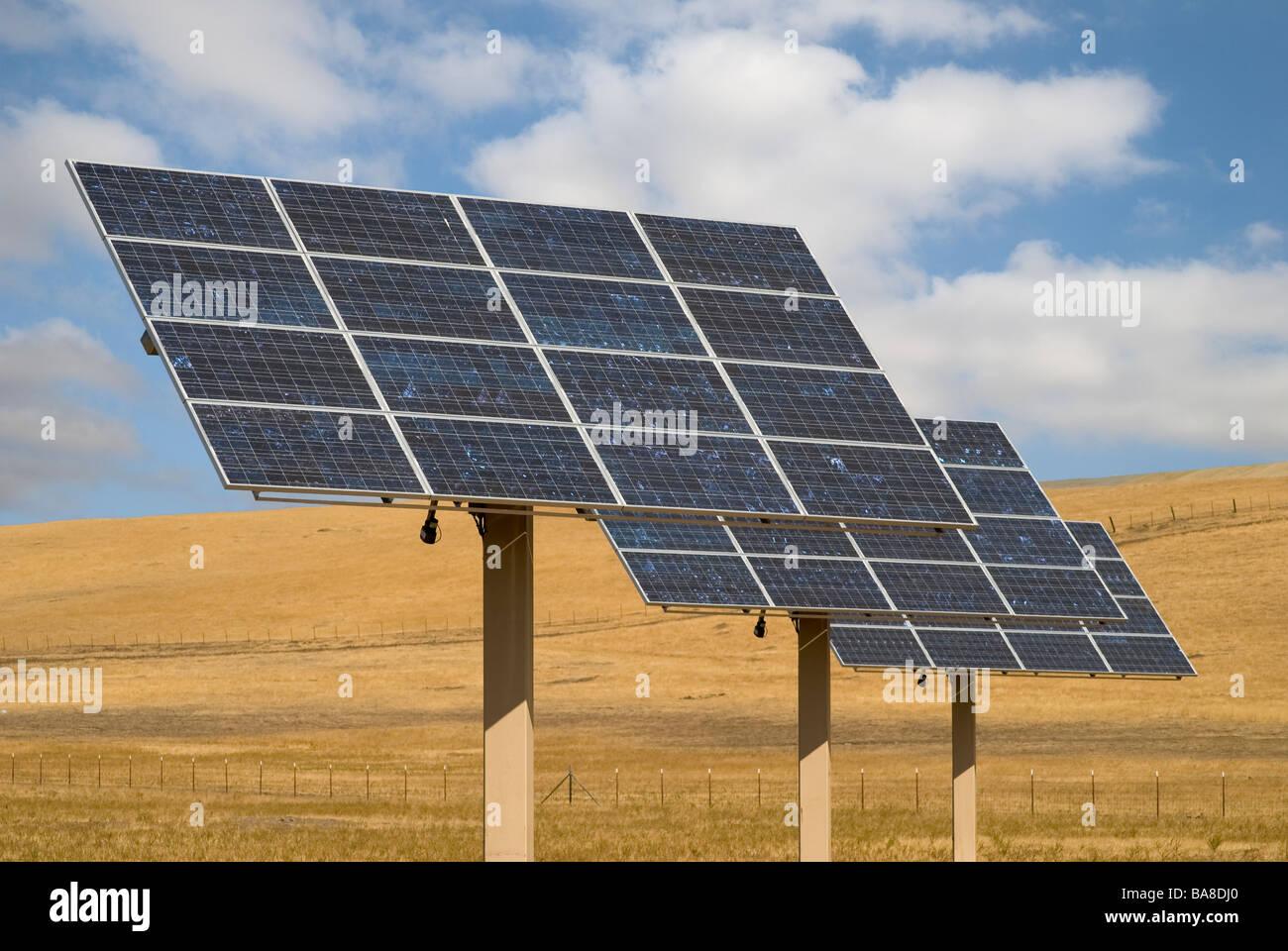 Paneles solares Imagen De Stock