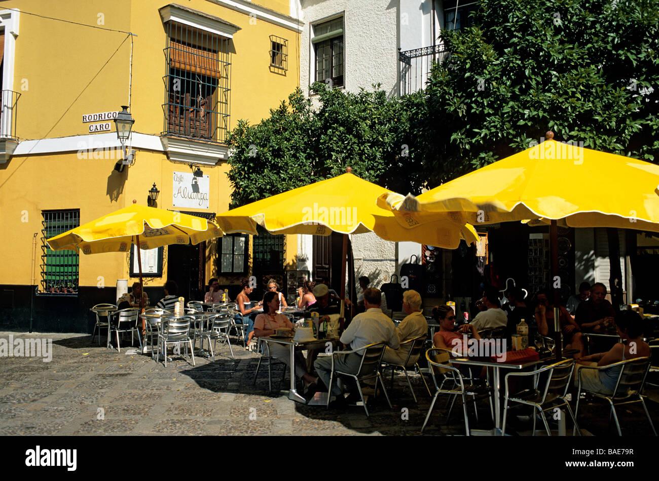 España Andalucía Sevilla Barrio De Santa Cruz Alianza