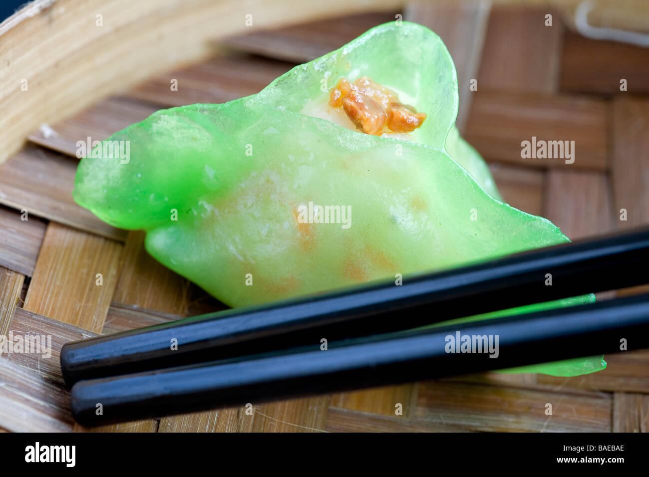 Singapur, la Esplanada, mi humilde casa restaurante, dim sum Imagen De Stock