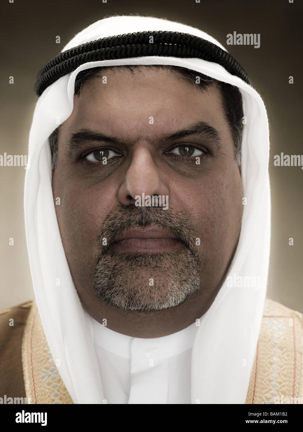 Retrato de un hombre musulmán Imagen De Stock