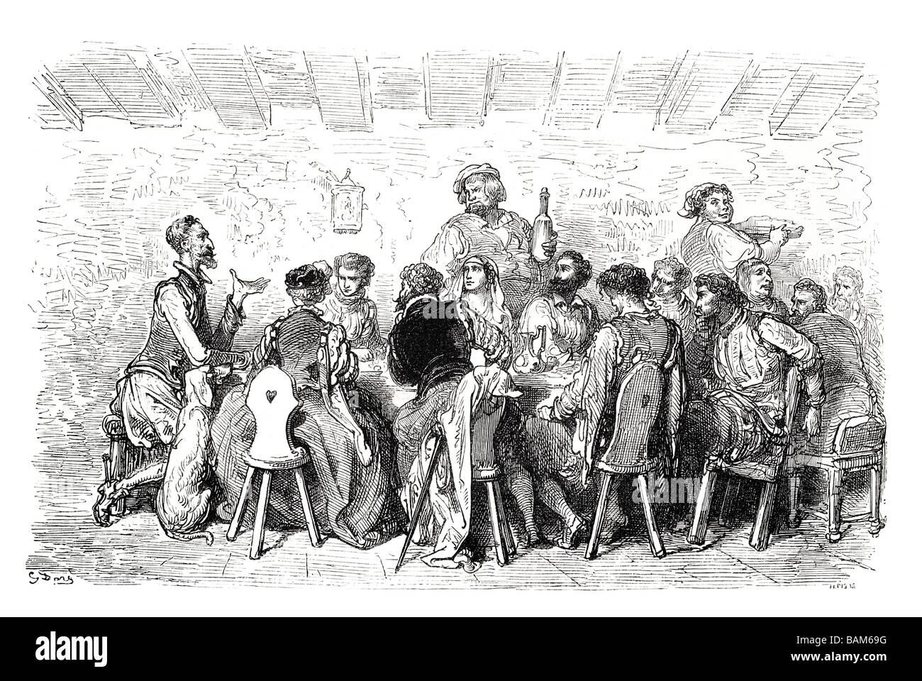 Capítulo XXXIV 34 34 novela española Don Quijote Alonso Quixano literatura Cervantes quest Imagen De Stock
