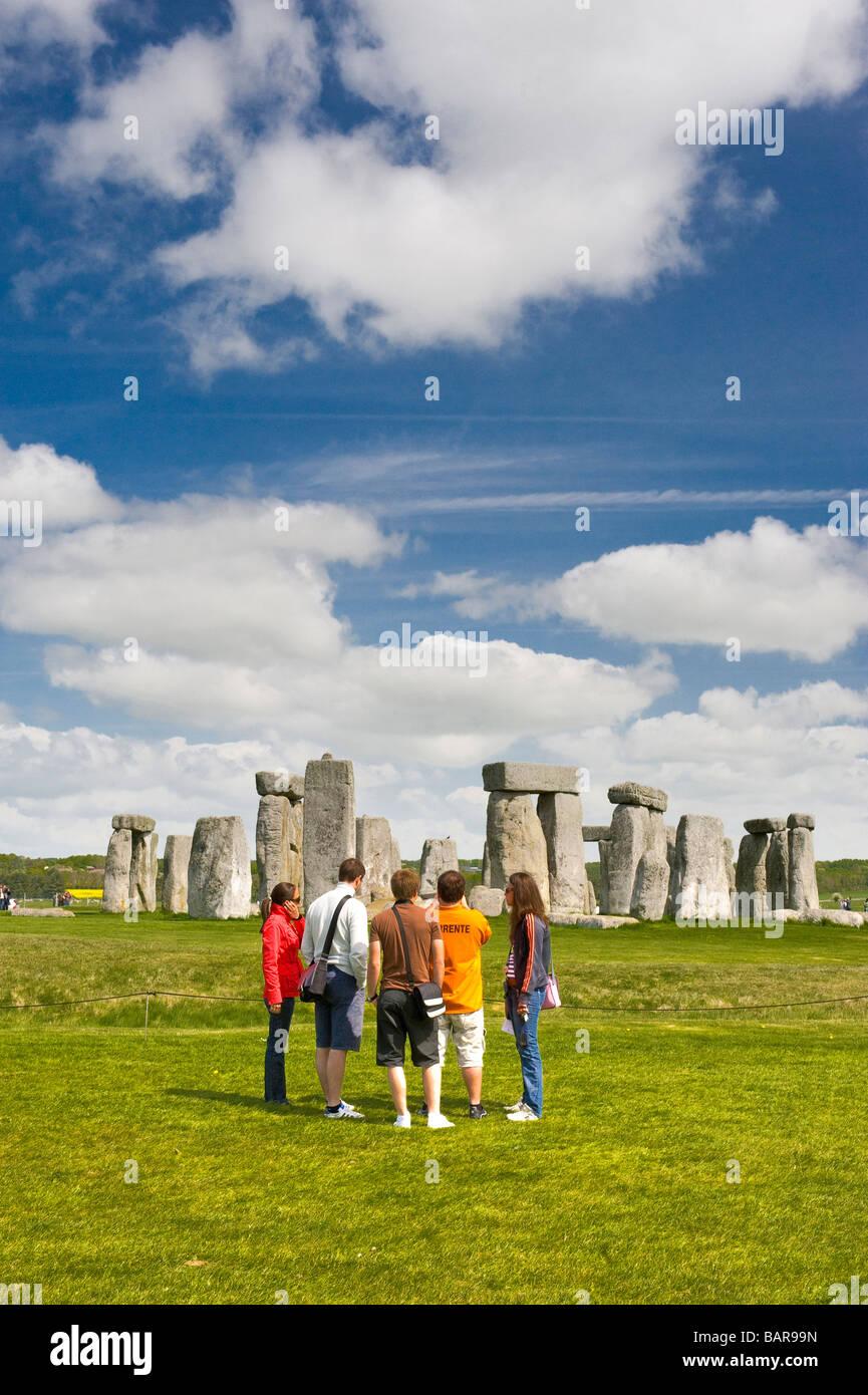 Wiltshire Salisbury Stonehenge Imagen De Stock