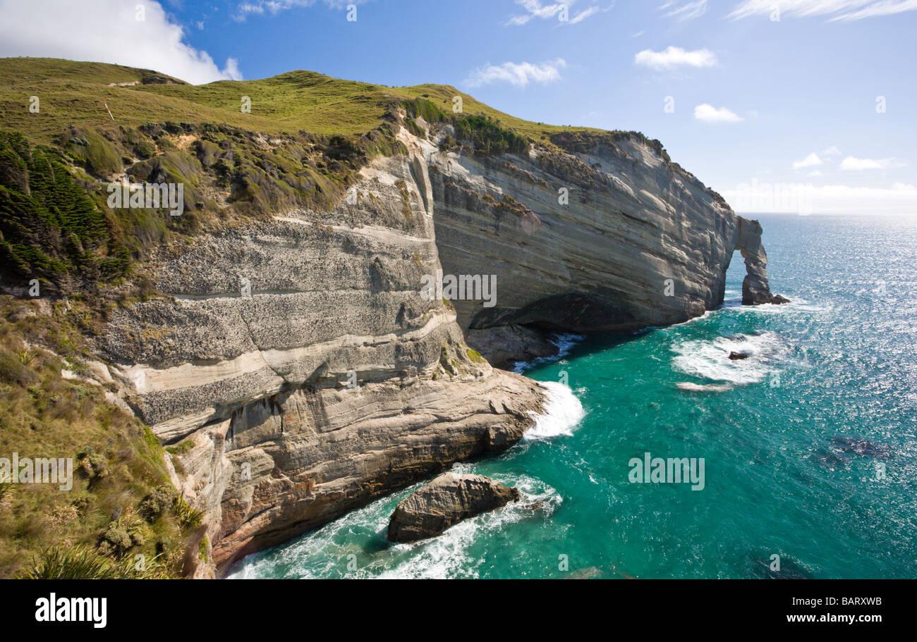 Cape Farewell, Isla del Sur, Nueva Zelanda Imagen De Stock