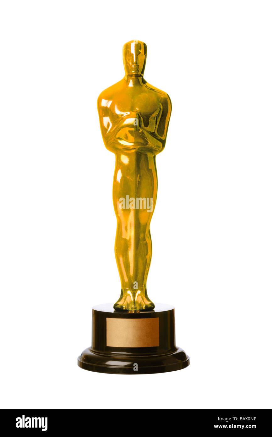 Copia de los Premios de la Academia Oscar estatuilla Imagen De Stock