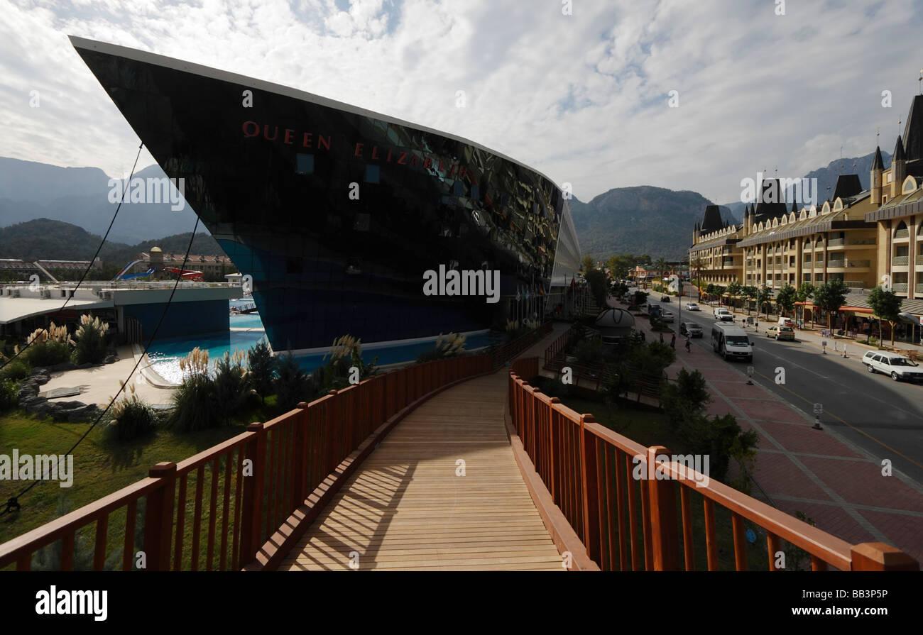 Hotel Reina Isabel. Kemer, Turquía. Imagen De Stock