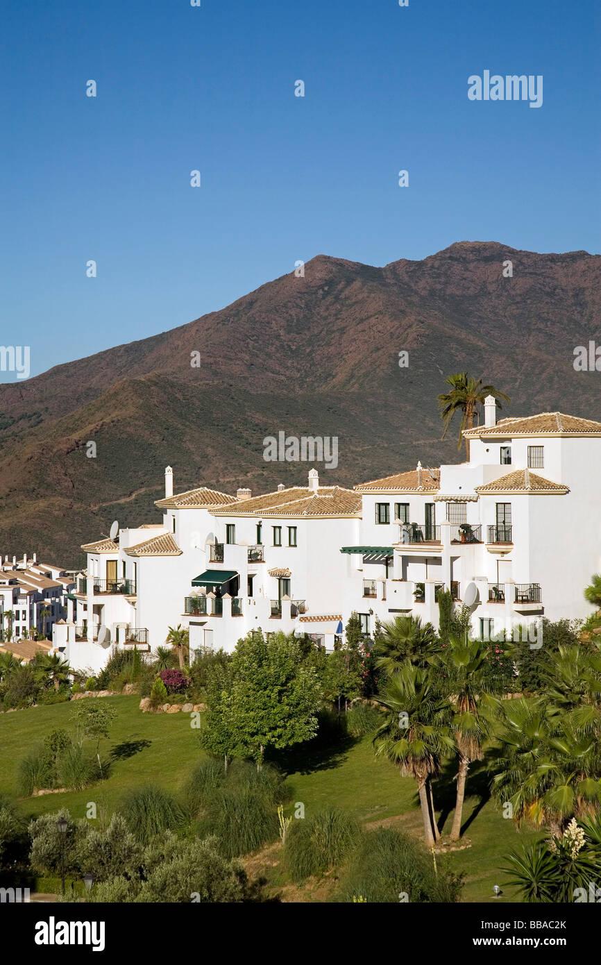 La Urbanización Alhaurín Golf en Alhaurin el Grande Malaga Andalucia España Foto de stock