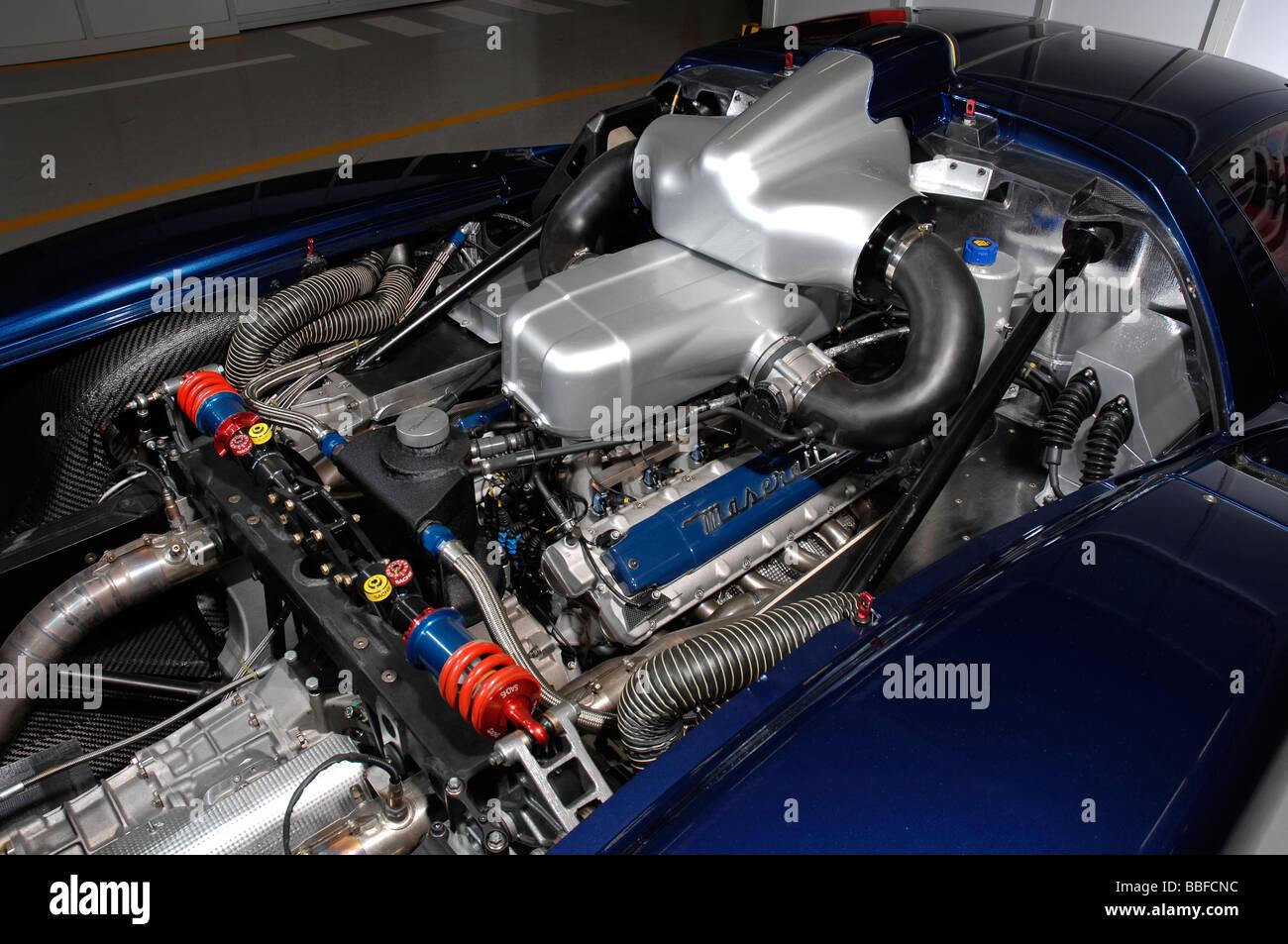 Maserati MC12 Corsa 2008 Imagen De Stock
