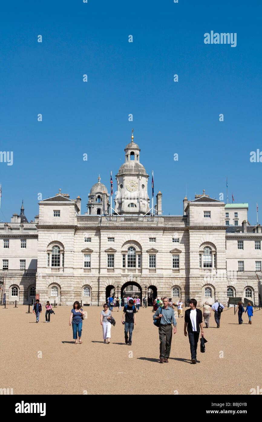 Los guardias a caballo desfile - Londres Imagen De Stock