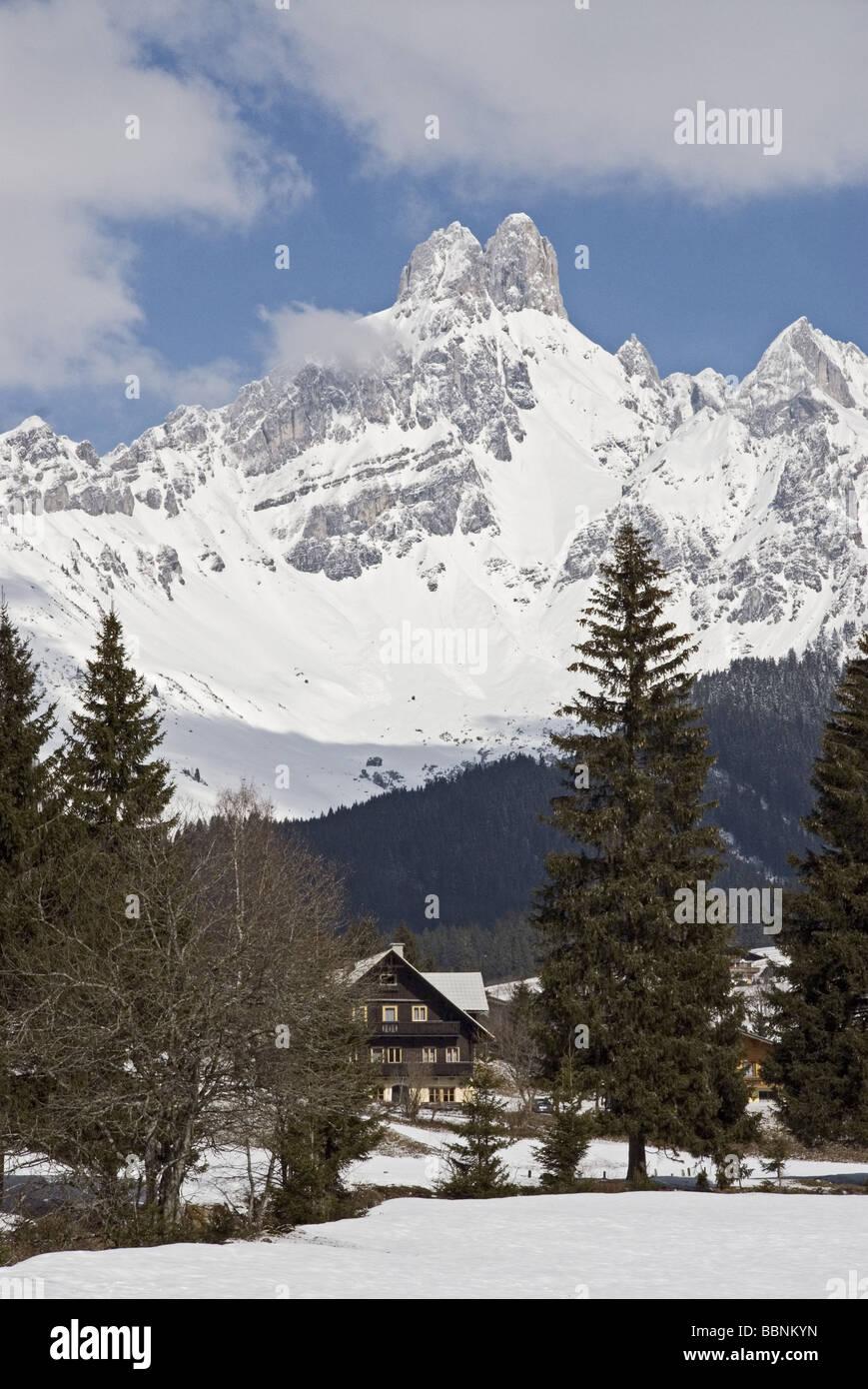 Geografía / viajes, Austria, Salzburgo, paisajes, Estado Bischofsmütze (2459 m), Additional-Rights-Clearance Imagen De Stock