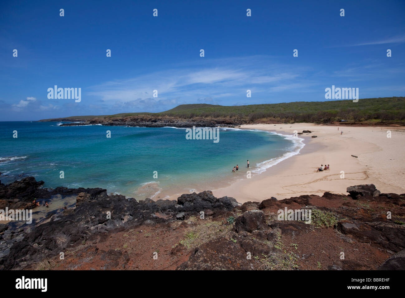 Bahía Kawakui Molokai Hawaii playa playas Imagen De Stock