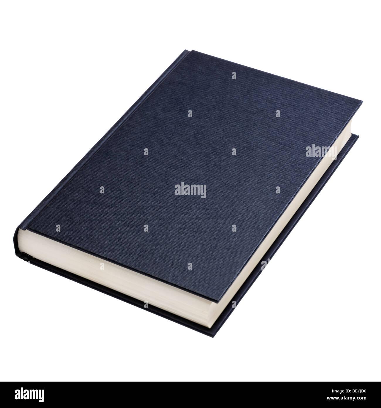 Portada del libro en blanco cortada Imagen De Stock