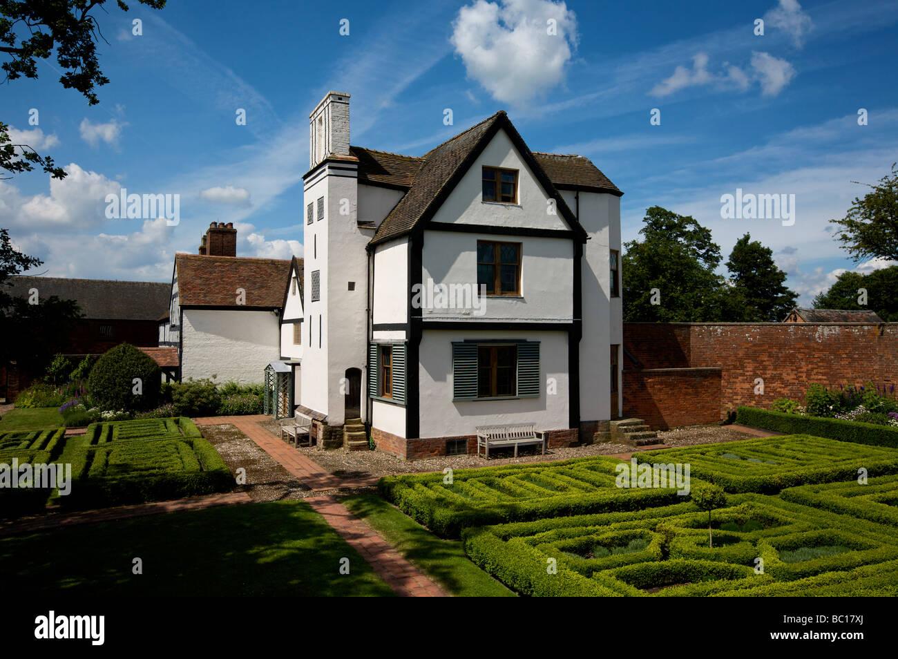 Boscobel House Boscobel Shropshire Inglaterra West Midlands Foto de stock