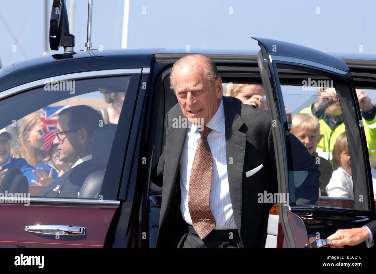 El Príncipe Felipe, Duque de Edimburgo Imagen De Stock