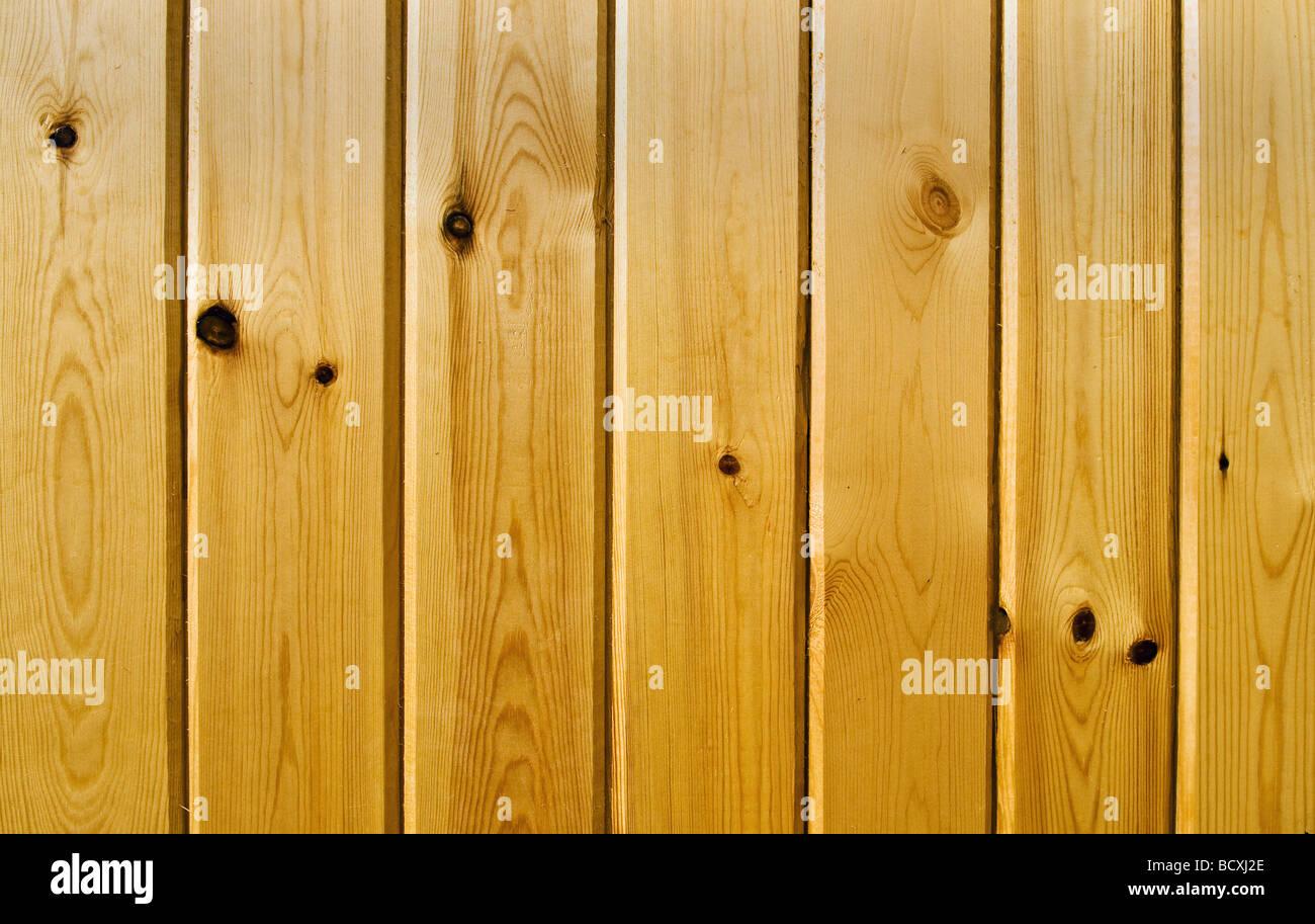 Textura de madera marrón claro con patrones naturales Imagen De Stock
