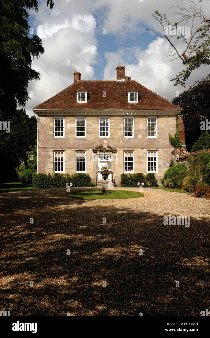 Casa del ex-Primer Ministro Ted Heath Salisbury Imagen De Stock