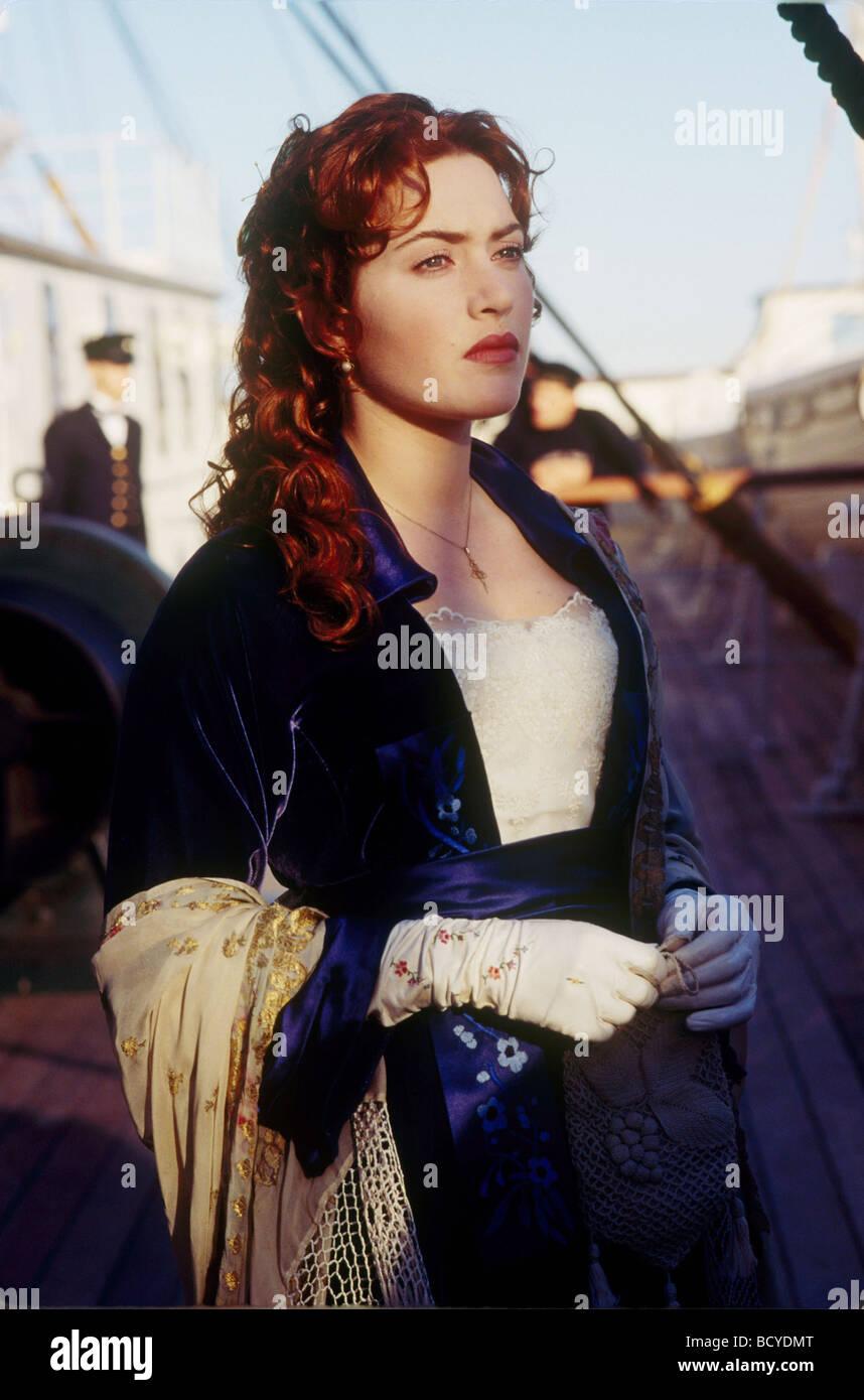 Titanic Año : 1997 Director : James Cameron Kate Winslet Imagen De Stock
