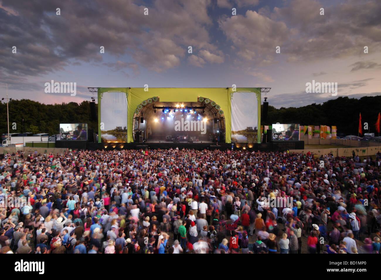 Latitud Music Festival Escenario Principal, en Southwold, Suffolk, Reino Unido Imagen De Stock