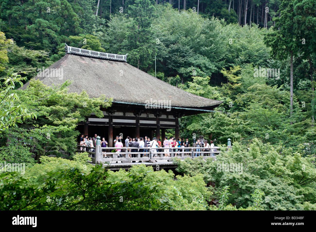 Templo Kiyomizu dera. El Protocolo de Kioto. Kansai. Japón Foto de stock