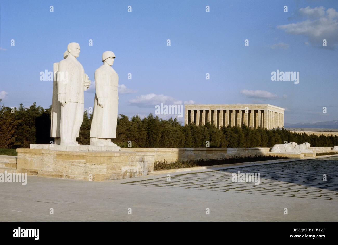 Kemal Atatuerk Mustafa, 12.3.1881 - 10.11.1938, político turco, Presidente de la República de Turquía Imagen De Stock