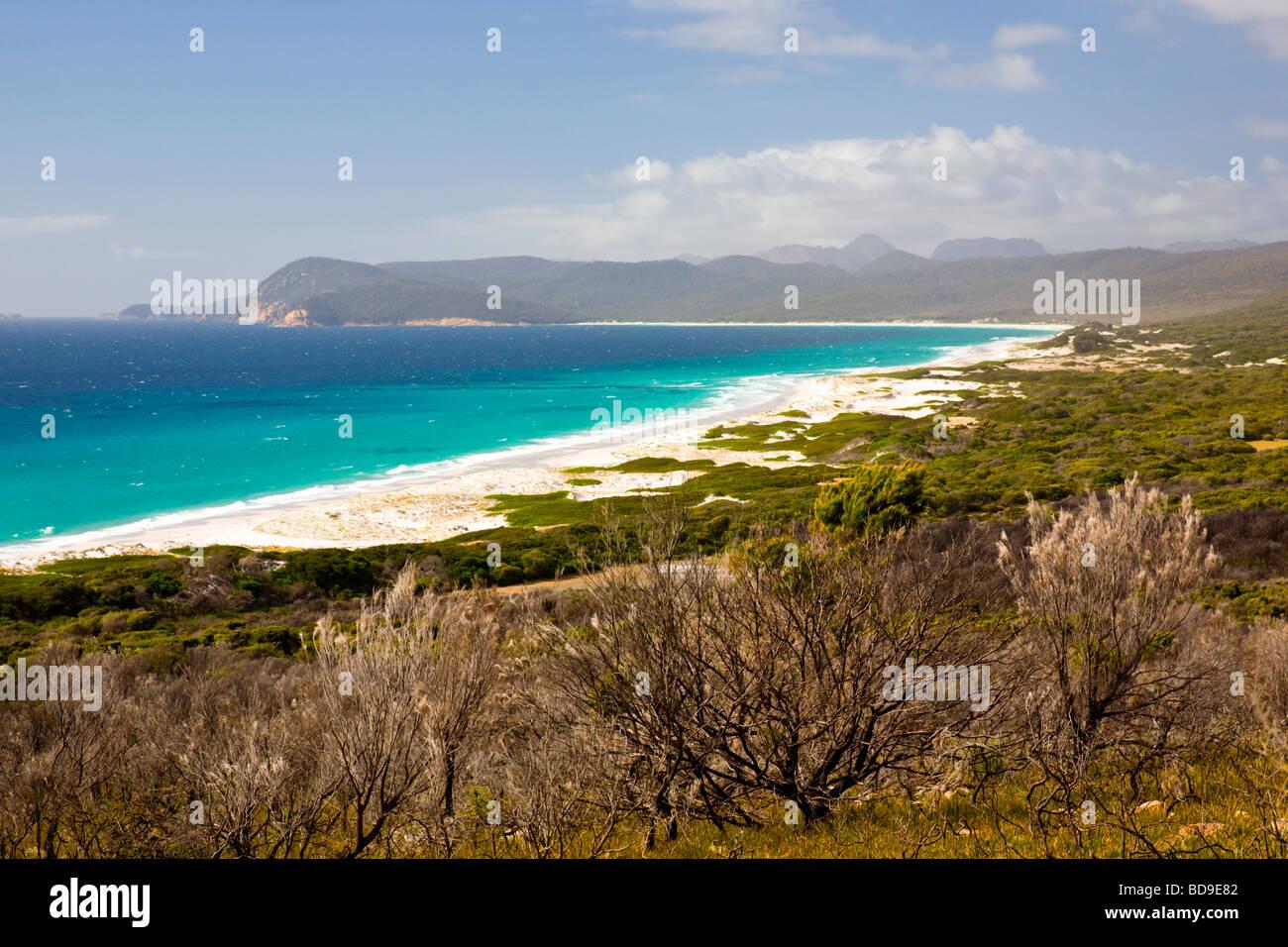 Playas amigable parque nacional Freycinet Tasmania Australia Imagen De Stock