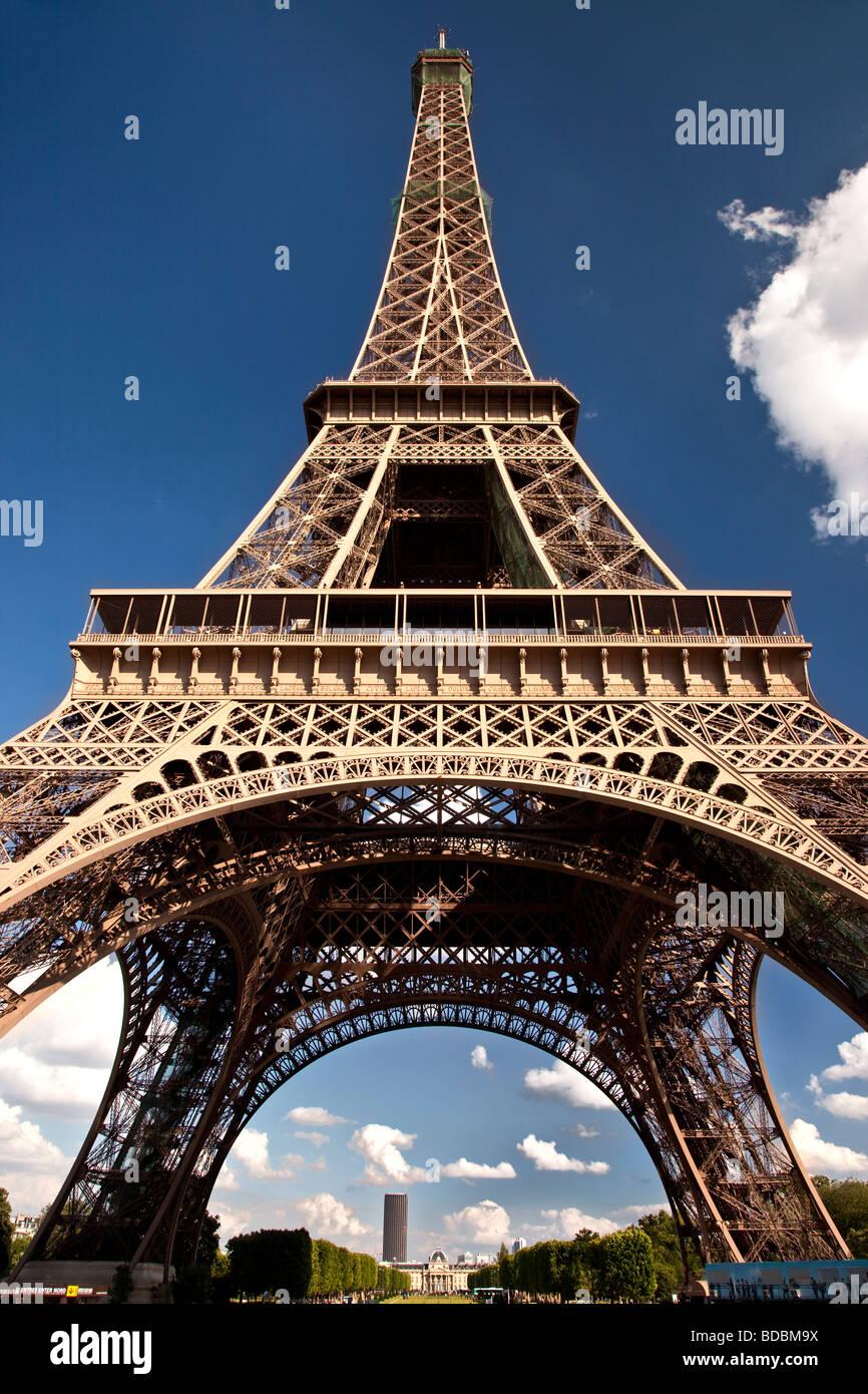 Torre Eiffel, París Francia Imagen De Stock