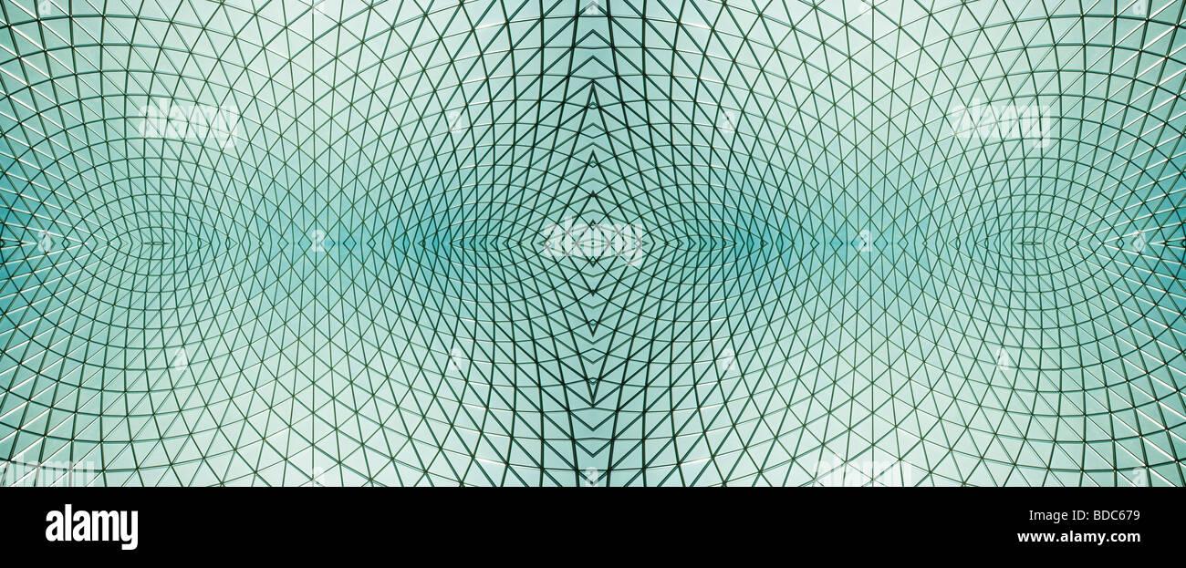 Concepto de arquitectura abstracta decoración conceptual diagrama del dispositivo figura la instrucción Imagen De Stock