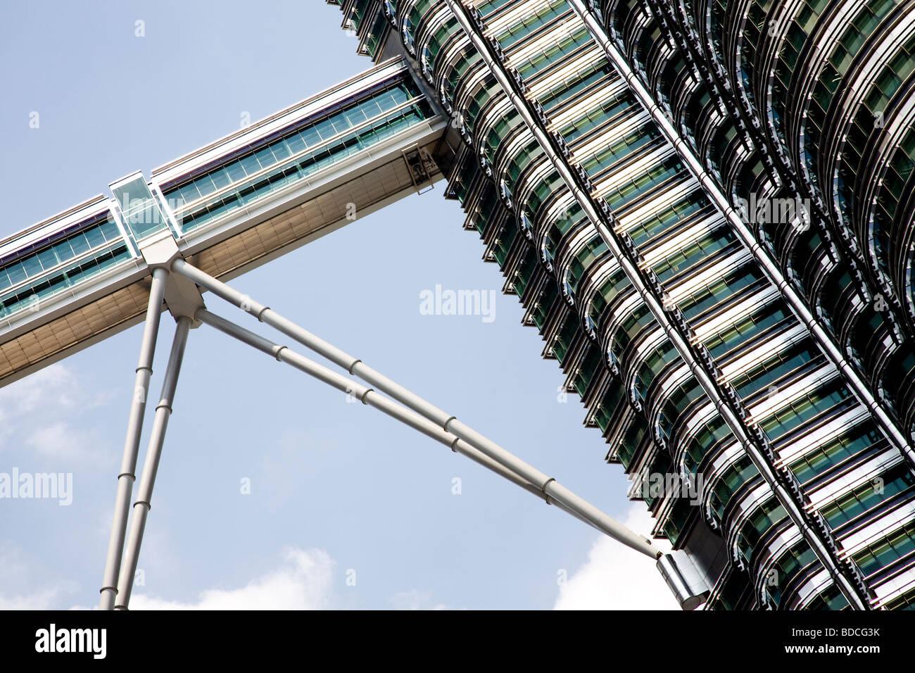 Torres Petronas, Kuala Lumpur, Malasia Imagen De Stock